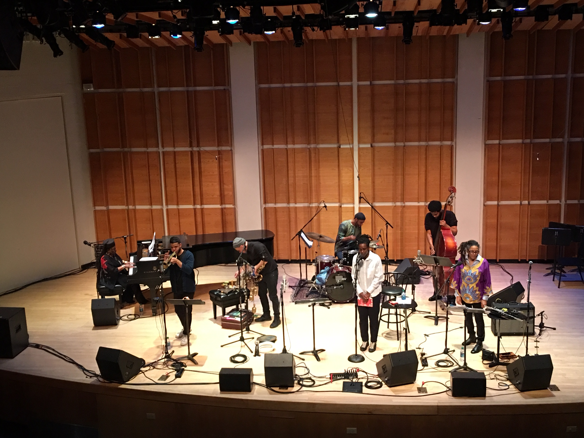 Review: Irreversible Entanglements with Amina Claudine Myers and Nicole Mitchell, Feb 28, 2019