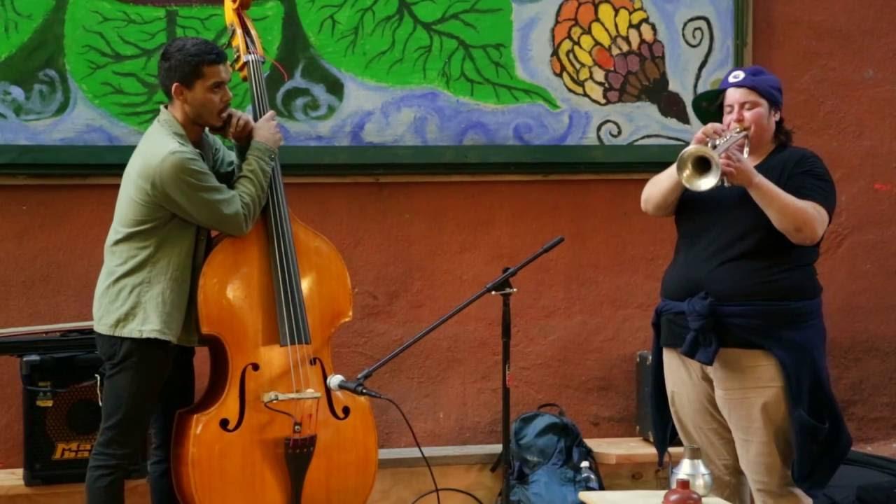 Jaimie Branch & Brandon Lopez Live at Children's Magical Garden 2016-09-24