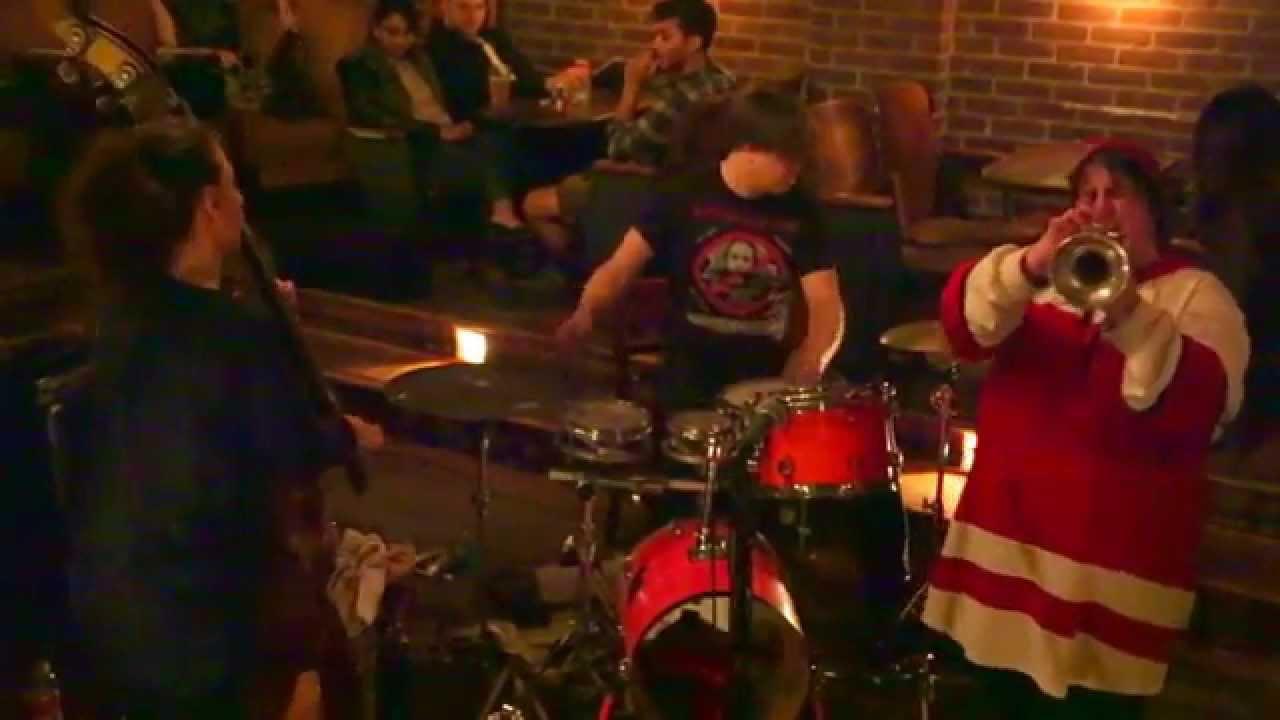 Jaimie Branch, Shayna Dulberger, and Weasel Walter Live at Manhattan Inn 2015-11-04