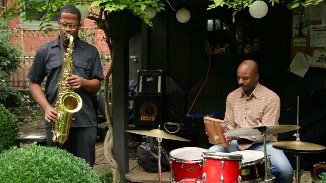 James Brandon Lewis-Chad Taylor Duo Live at 6BC Gardens (Arts for Art) 2016-10-02