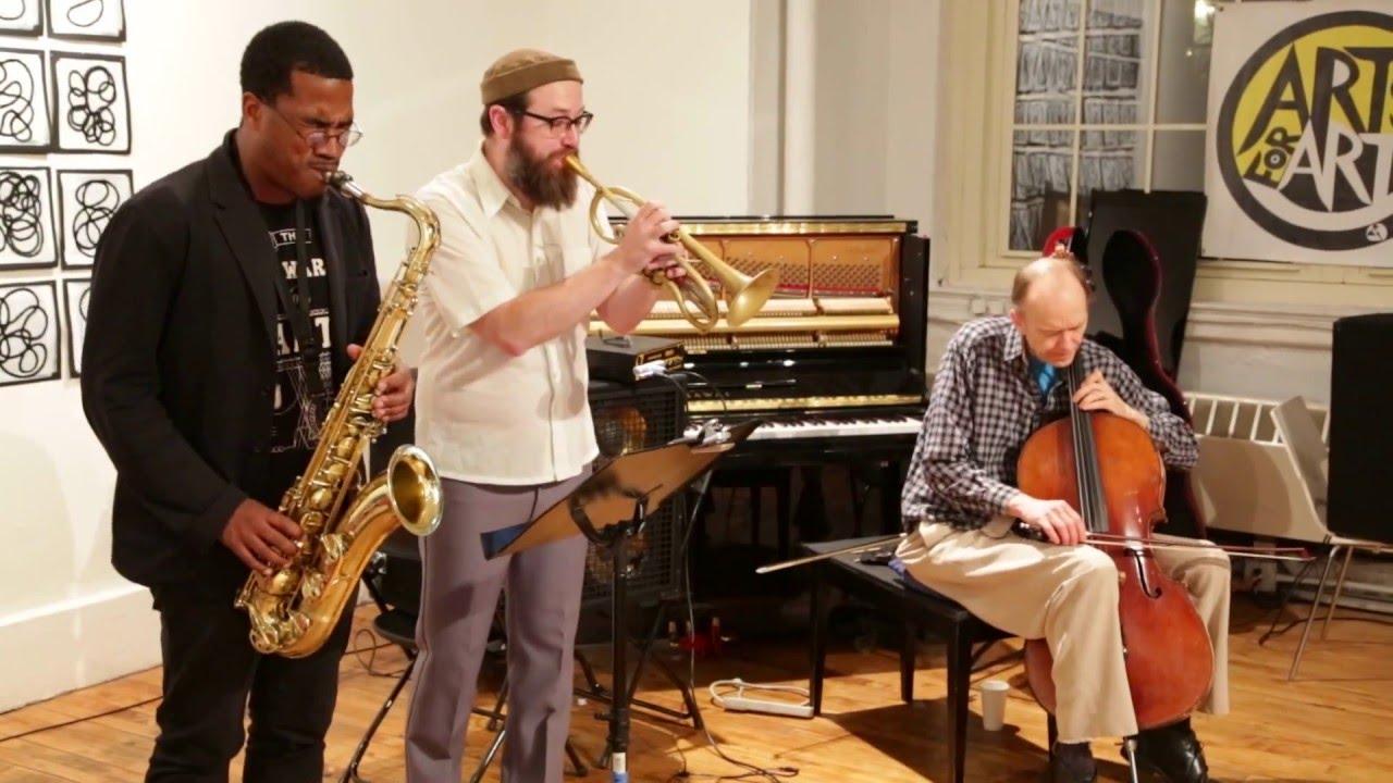 James Brandon Lewis' LOTUS Live at Arts for Art (NYC Free Jazz Summit) 2016-04-05