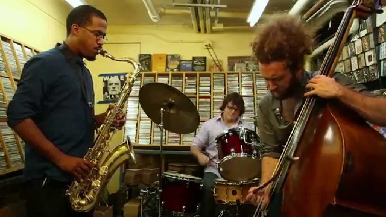 James Brandon Lewis, Max Johnson, and Dominic Fragman Live at Downtown Music Gallery 2014-09-21