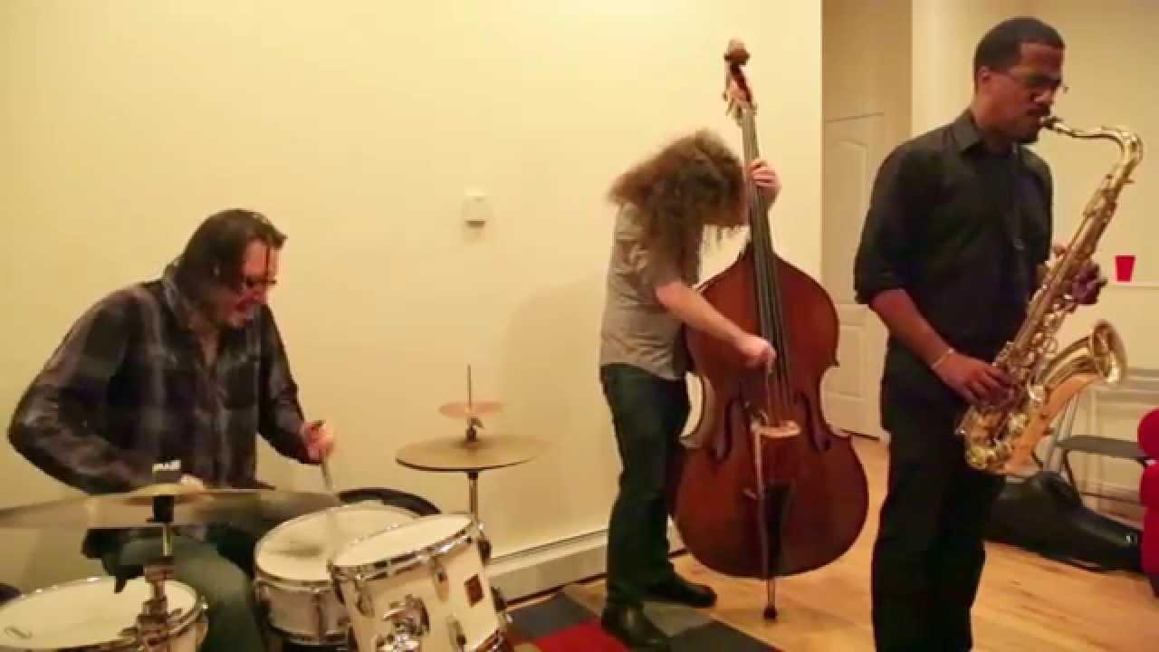 James Brandon Lewis Trio Live at New Revolution Arts 2015-06-13