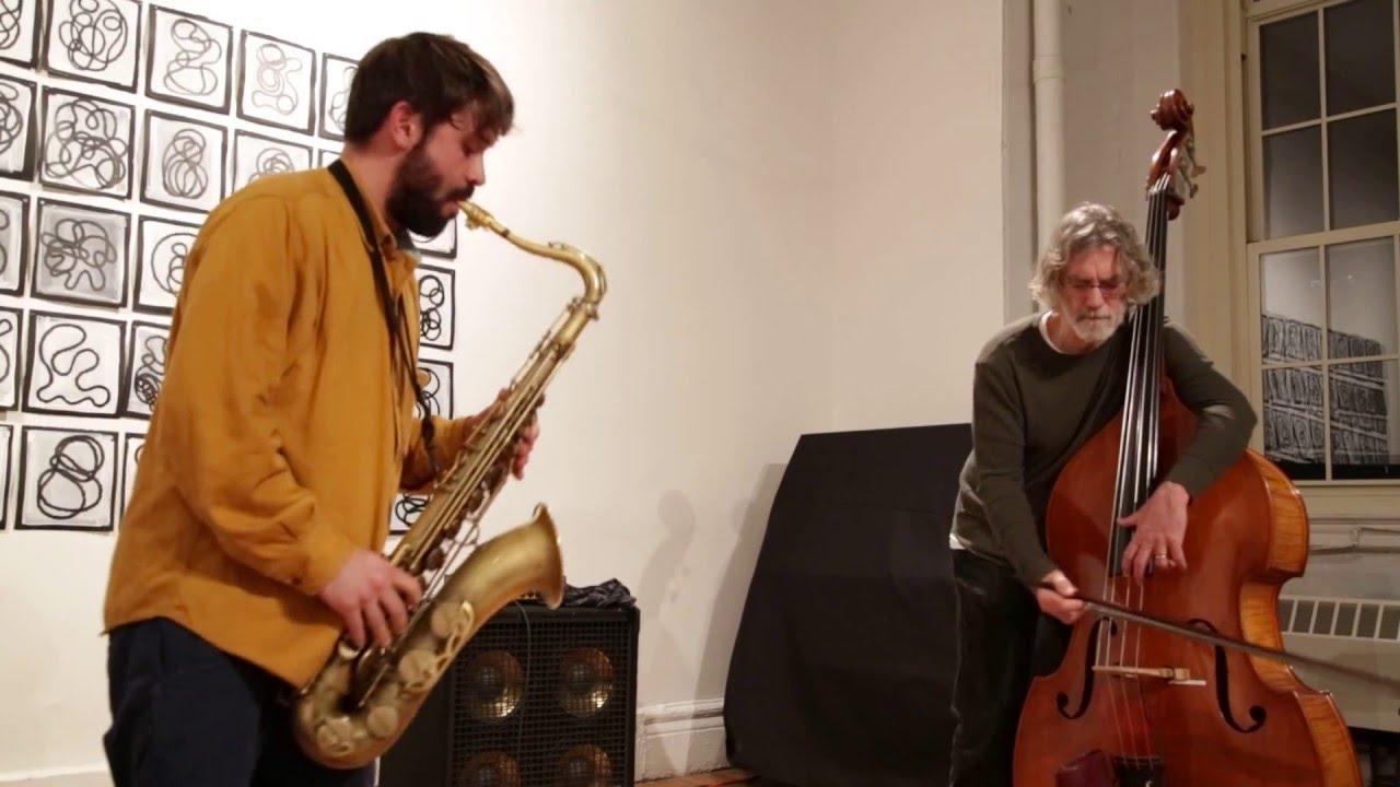 Joe Morris and Abraham Mennen Live at Arts for Art (NYC Free Jazz Summit) 2016-04-08