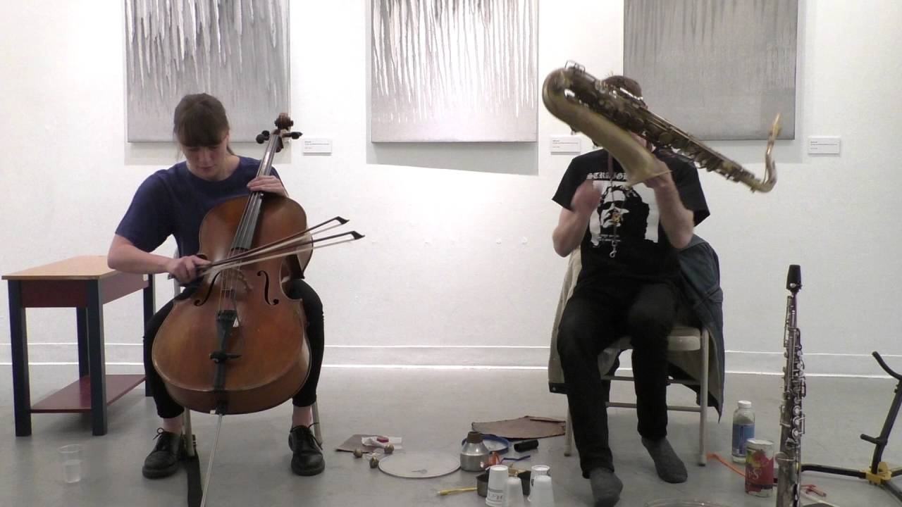Leila Bordreuil-Michael Foster Duo Live at Gallery 564 2016-05-22