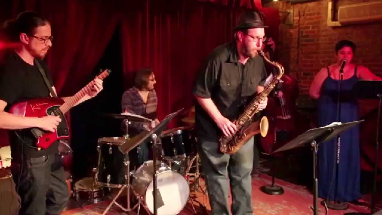Magically Inclined Live at Jalopy (Skirl Party) 2015-06-19