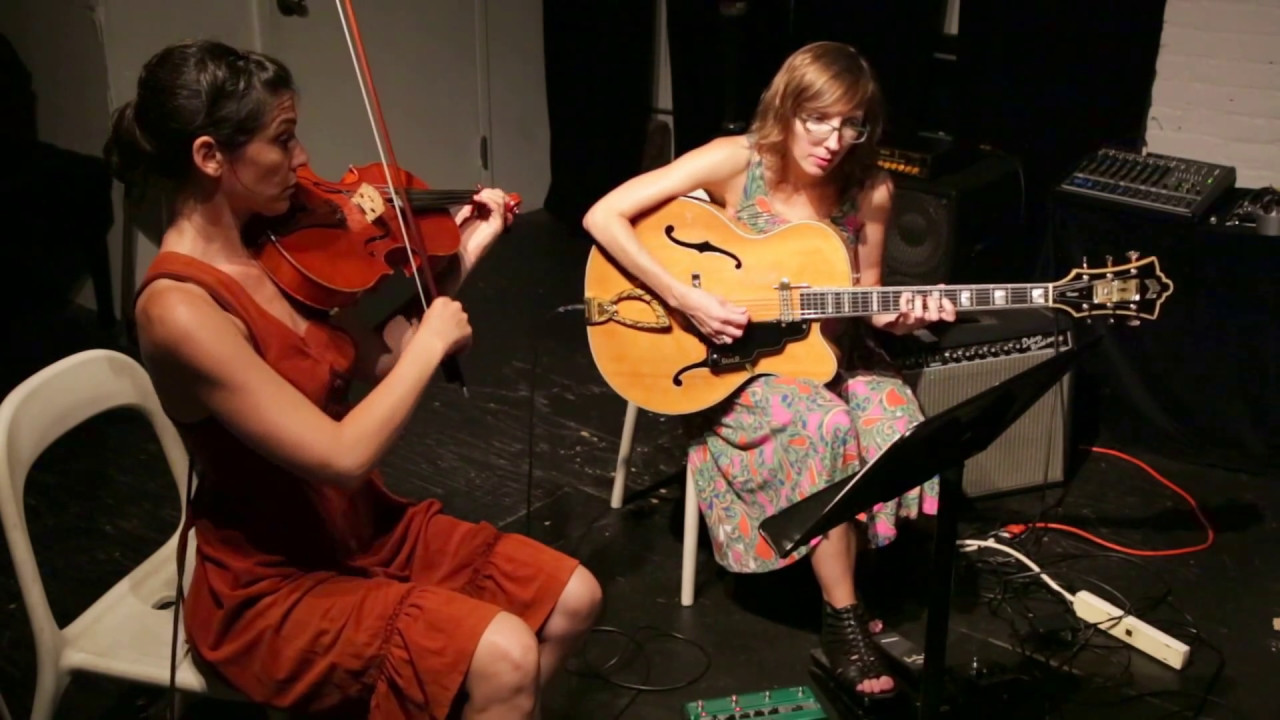 Mary Halvorson and Jessica Pavone Live at the Stone 2016-07-29