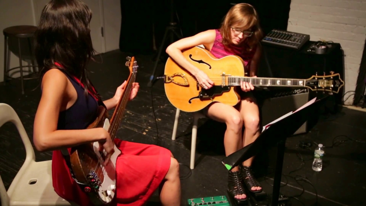 Mary Halvorson and Jessica Pavone Live at the Stone 2016-07-28