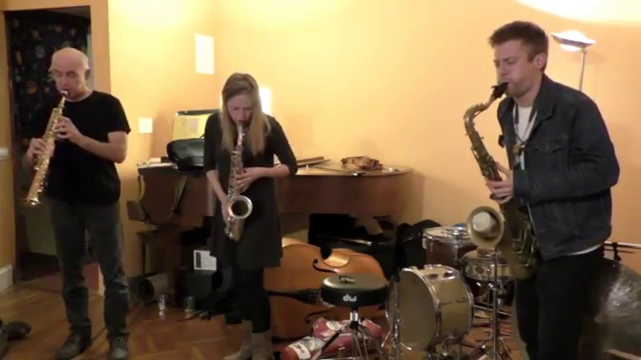 Michel Doneda, Louise D.E. Jensen, and Michael Foster Live at Soup & Sound 2015-12-21