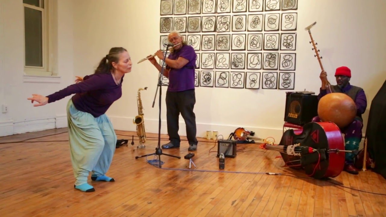 Patricia Nicholson Parker, Mixashawn Rozie, and William Parker, Live at Arts for Art (NYC Free Jazz Summit) 2016-04-10