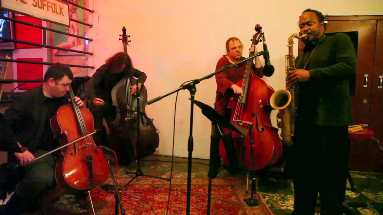 Ras Moshe, Daniel Levin, Max Johnson, and Tom Zlabinger Live at Evolving Music (Arts for Art) 2012-04-23