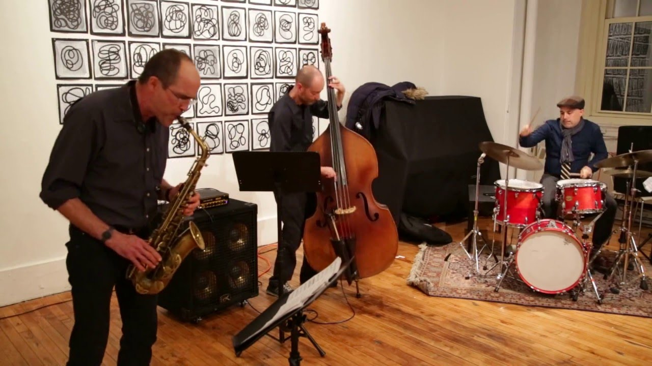 Rob Brown Trio Live at Arts for Art (NYC Free Jazz Summit) 2016-04-04