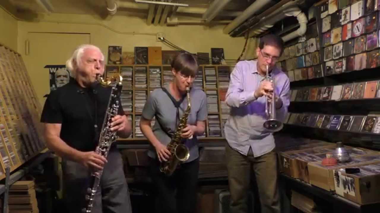 Silke Eberhard, Nikolaus Neuser, and Vinny Golia Live at Downtown Music Gallery 2015-09-13