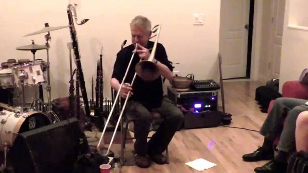 Steve Swell Solo Live at New Revolution Arts 2015-08-15