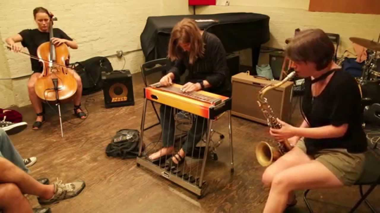 Susan Alcorn, Ingrid Laubrock, and Leila Bordreuil Live at Ibeam Brooklyn 2015-08-23