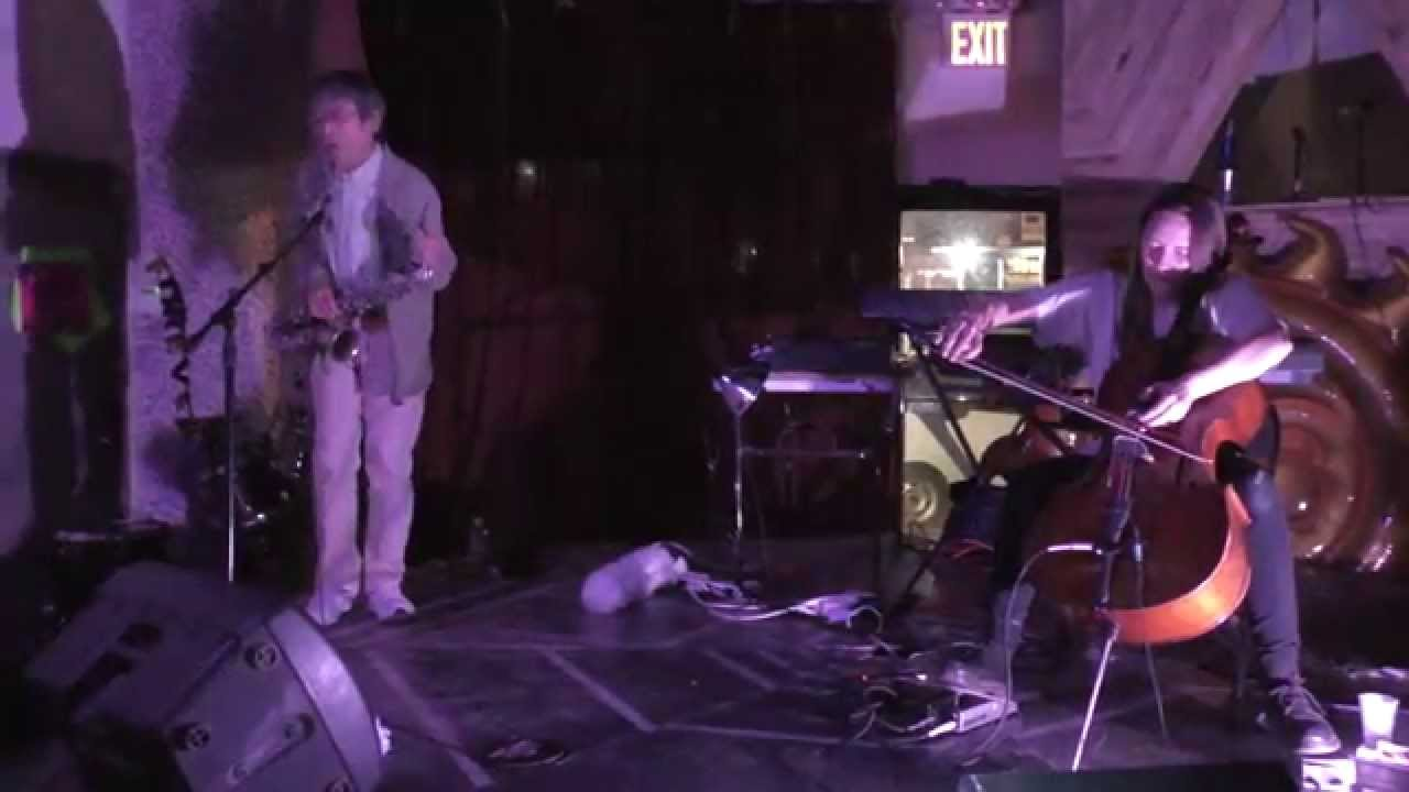 Tamio Shiraishi and Leila Bordreuil Live at Silent Barn 2015-11-02