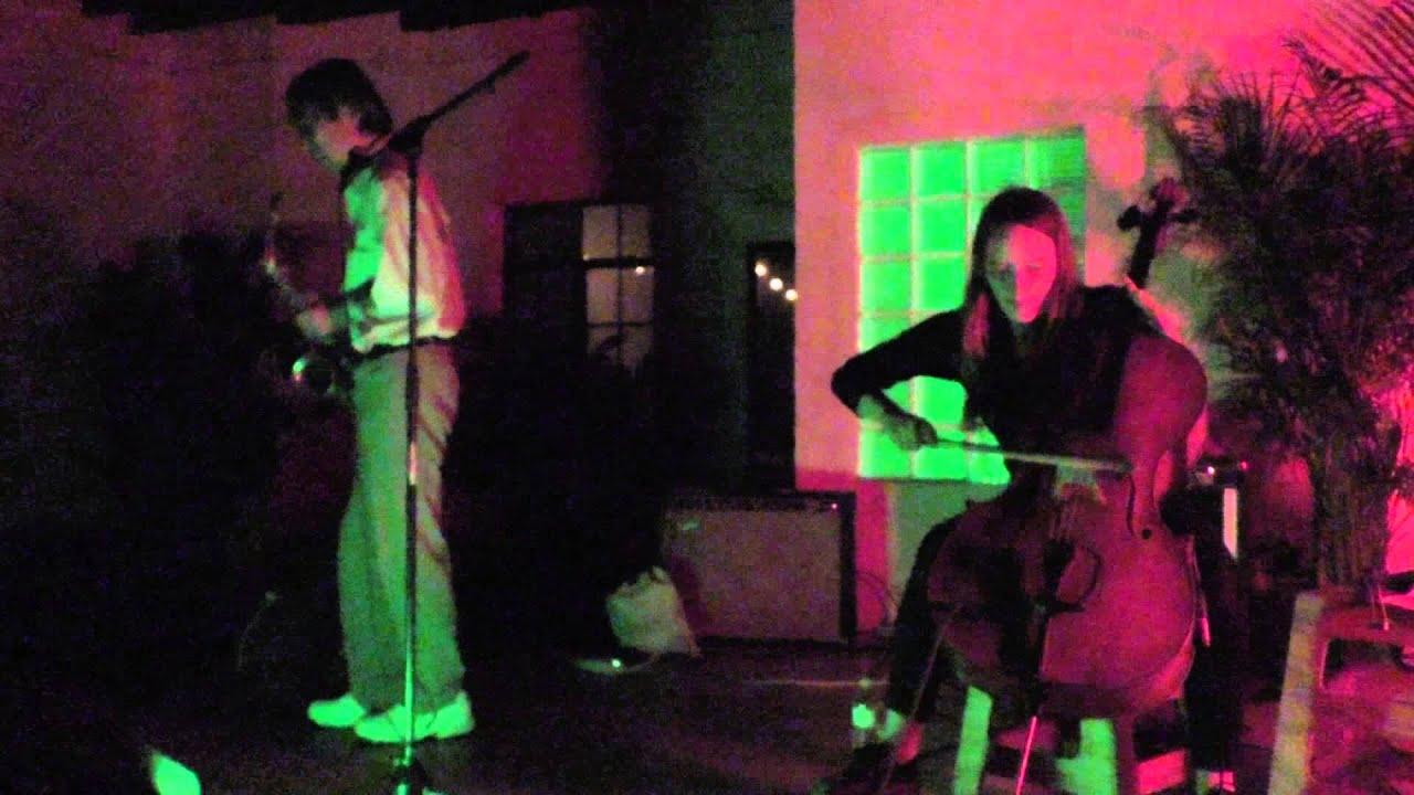 Tamio Shiraishi and Leila Bordreuil Live at Trans Pecos 2015-09-14