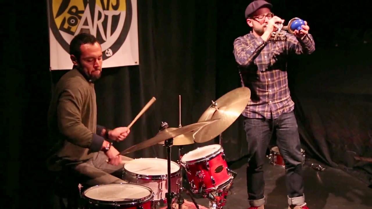 Taylor Ho Bynum-Tomas Fujiwara Duo Live at Clemente Soto Velez (Arts for Art) 2014-03-24