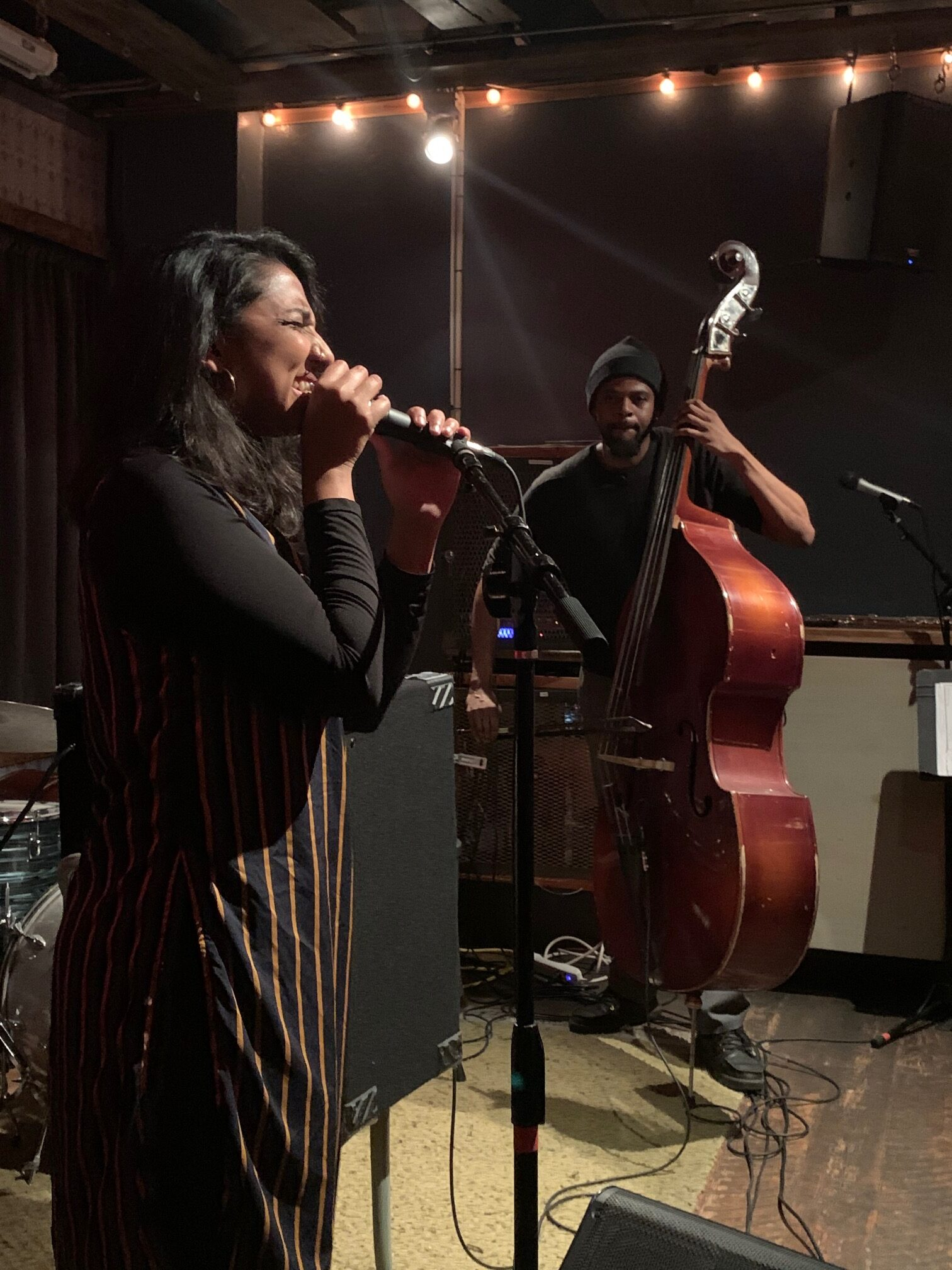 The Fierce Scream of Now: Amirtha Kidambi and Luke Stewart at Threes Brewing, Feb 26, 2020